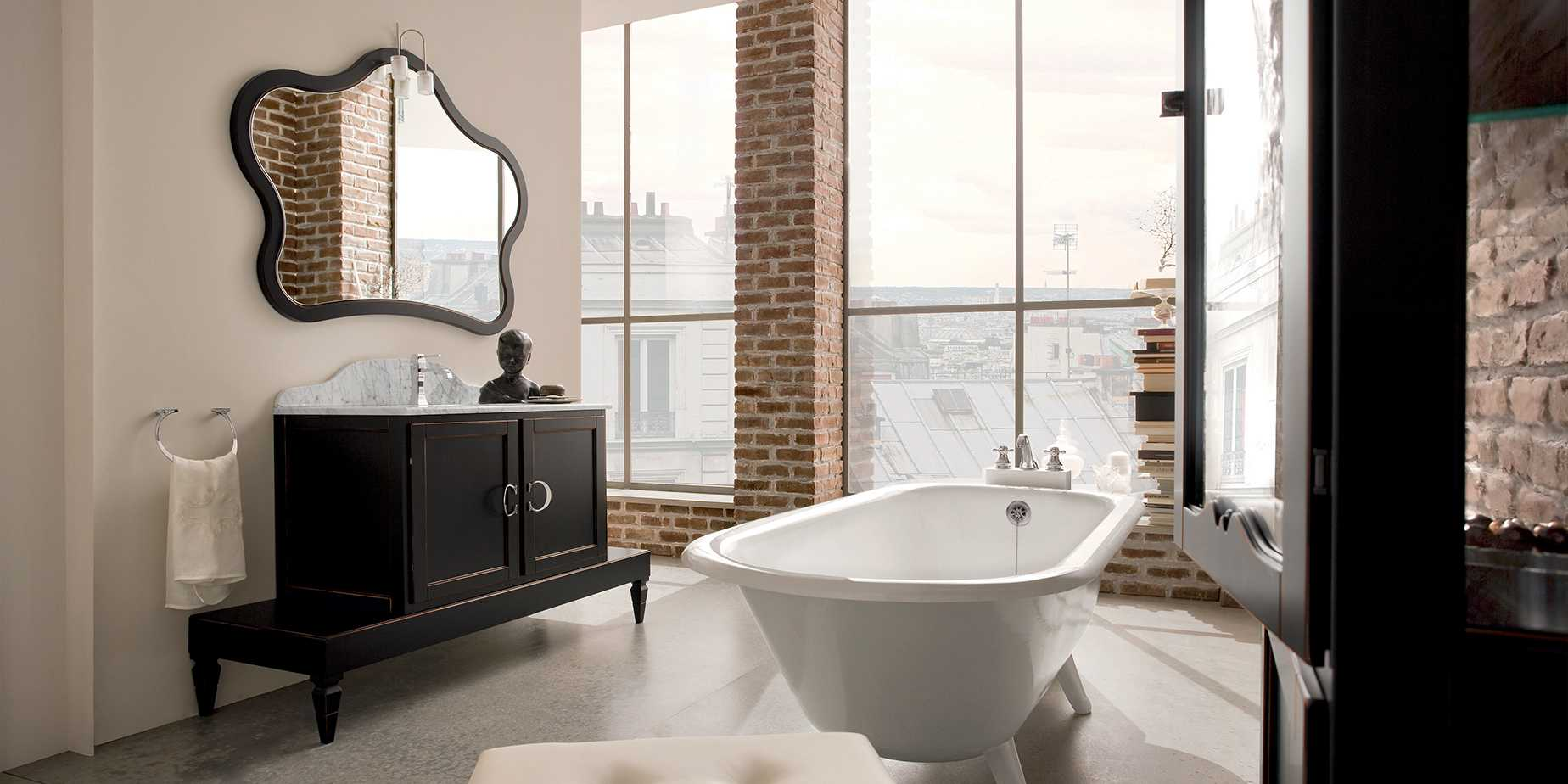 Salle de bain rétro à Arras