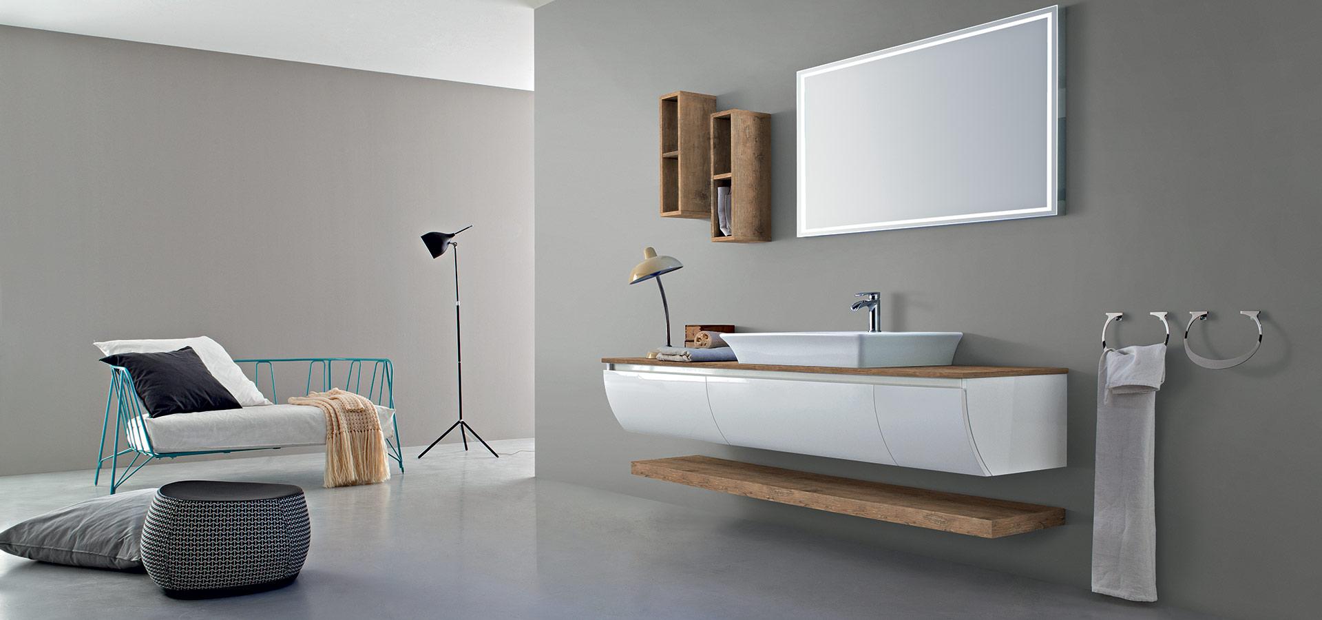 Magasin à arras de salles de bain modernes